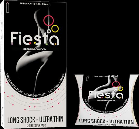 Bao Cao Su Fiesta Long Shock, Fiesta Condom Long Shock, Long Shock