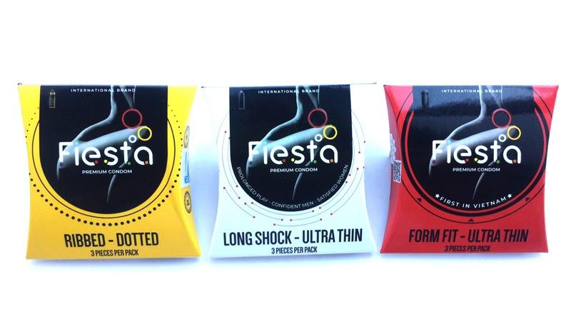 Fiesta là dòng bao cao su được nhiều người lựa chọn bởi rất ưu việt