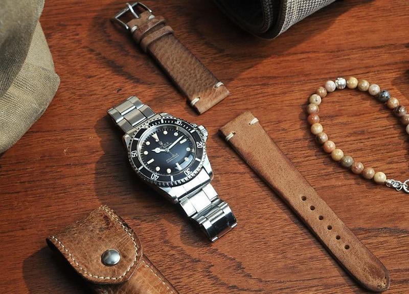 Lựa chọn đồng hồ dựa vào chất liệu dây