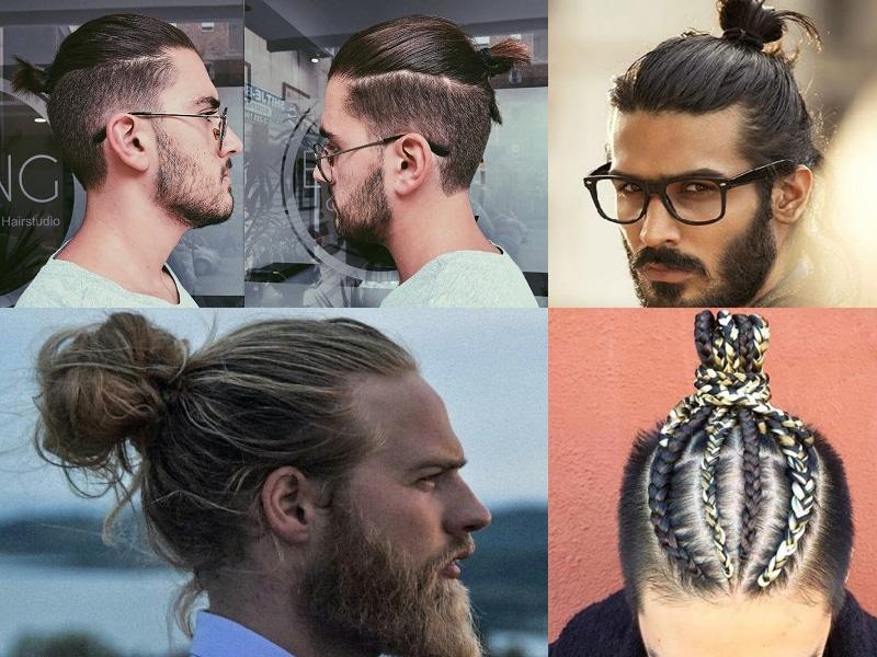 Mẫu tóc manbun cổ điển và các biến thể