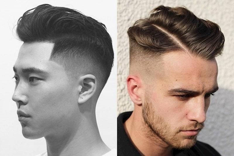 Mẫu tóc undercut cá tính khi nhìn từ phía sau