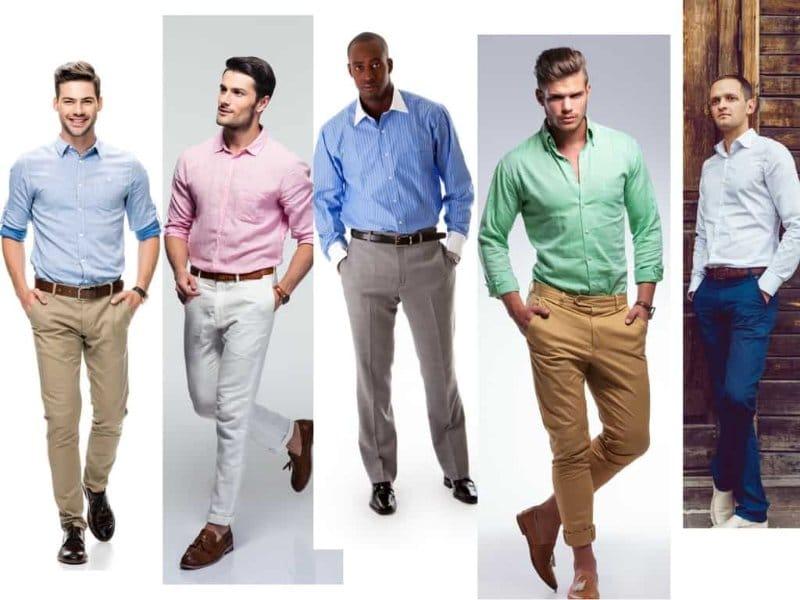 Một số gợi ý kết hợp áo sơ mi với quần dài vừa lịch lãm vừa nam tính