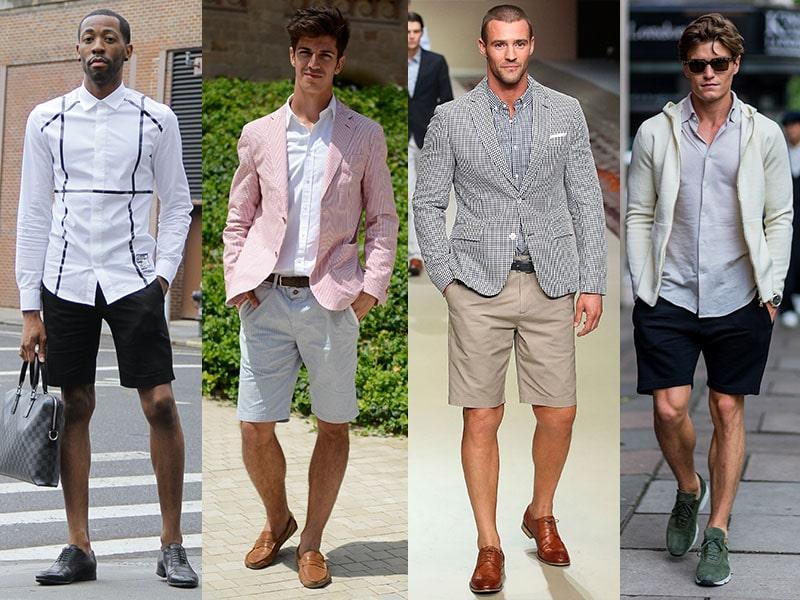 Các mẫu quần sooc phổ biến cho nam giới