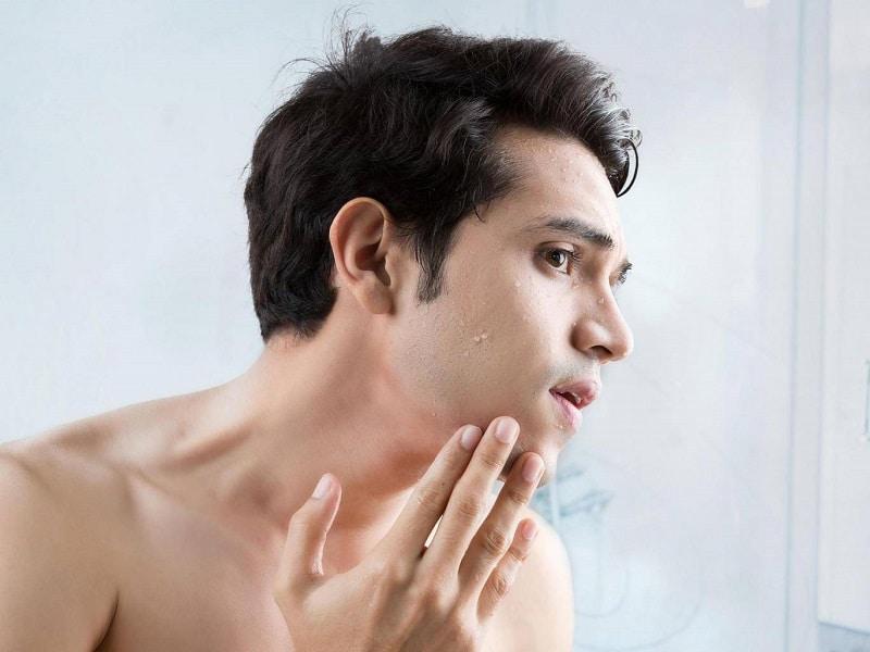 Đảm bảo da mặt luôn thoáng, sạch không chứa các bã nhờn hay tế bào chết tích tụ trên da