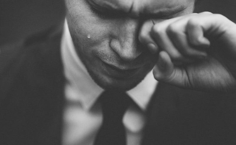 Phái mạnh ít khi khóc bởi họ cho rằng điều này thể hiện sự yếu đuối và ủy mị